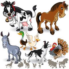 Farm Animals Collection Set 02