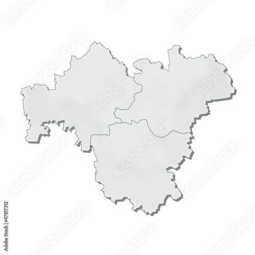 karte franken Region Franken Karte Umriss