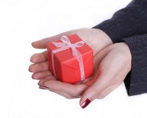 Fototapeta prezent świąteczny obraz