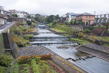 River in Beppu - Japan