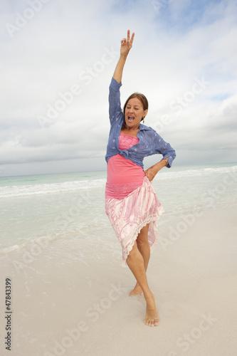Miller hot sexy mature women at the beach angel