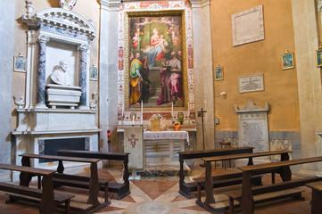 Foto op Aluminium Imagination Cathedral of Amelia. Umbria. Italy.