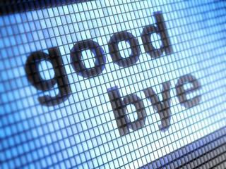 Poster Pixel good bye