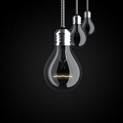 Glühbirnen, Strom, Energie