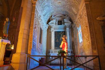 Church of St. Francesco. Tarquinia. Lazio. Italy.