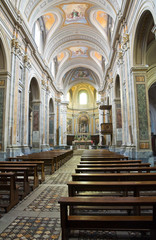 Cathedral of Sutri. Lazio. Italy.