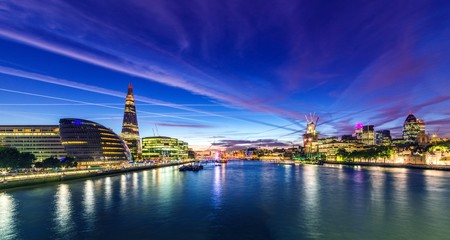 London Riverside Panorama