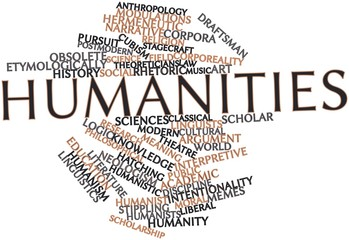 Word cloud for Humanities