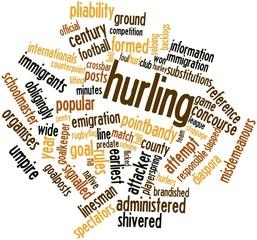 Word cloud for Hurling