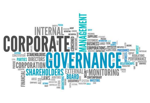 "Word Cloud ""Corporate Governance"""