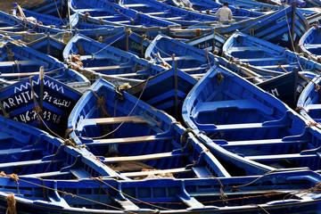 Marokańskie łodzie