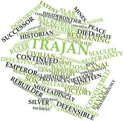 Word cloud for Trajan