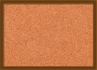 Brown Cork Texture Vector