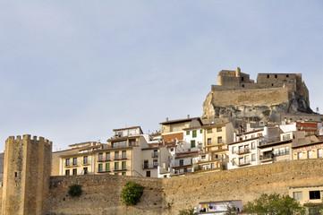 Pueblo amurallado de Morella, Castellón (España)