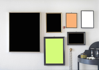picture frames, free space for pix / copy