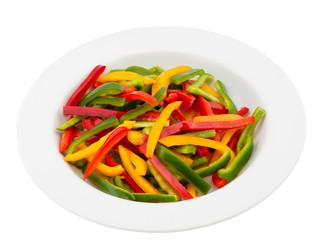 Three color pepper