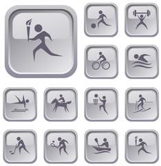 Sport button set
