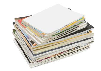 stack of old  glamorous  magazines