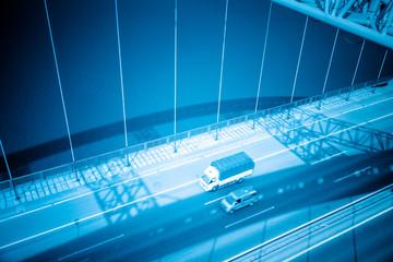traffic of bridge