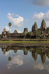Reflets du Temple d'Angkor Wat