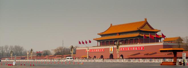 Foto op Plexiglas Beijing Tiananmen Gate