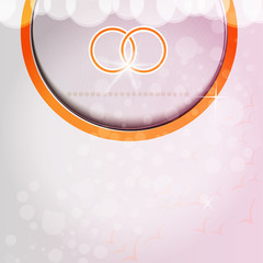 Wedding rings Background