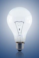 Illuminated light bulb including clipping path