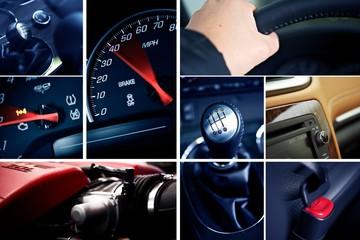 Motorization Mosaic-Collage