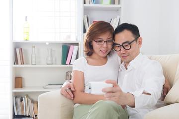 asian couple lifestyle photo