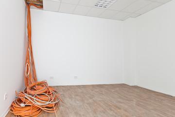 Umbau Rechenzentrum Kabel