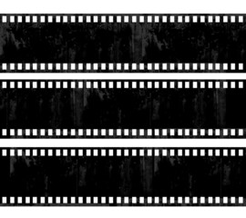 grunge film frame background with space for your text or image