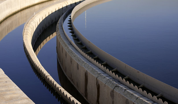 Biological wastewater treatment plant