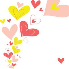 vector background heart
