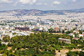 Athens cityscape, Greece