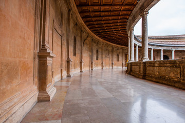 Charles V Palace at Alhambra,