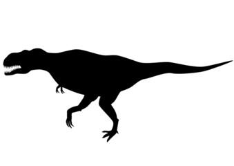 Tyranosaurus rex silhouette