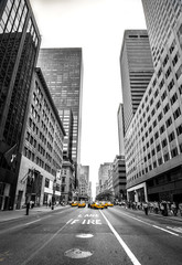 Fotobehang new york et son avenue