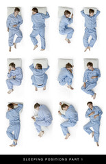 sleeping positions part 1