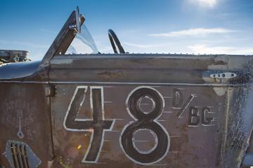 Wall Mural - Salt Lake, Utah - September 8: Vintage Packard racing car during