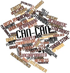 Word cloud for Can-can