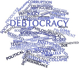 Word cloud for Debtocracy