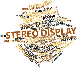 Word cloud for Stereo display