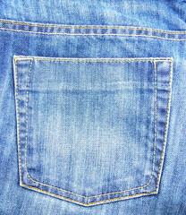 Blue Jeans pocket of background