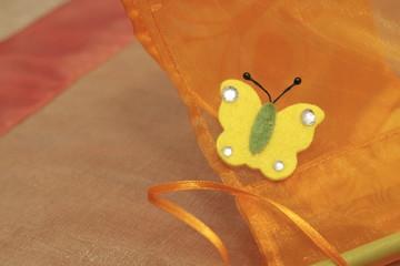 farfalla di feltro