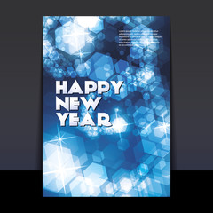 New Year Flyer or Cover Design