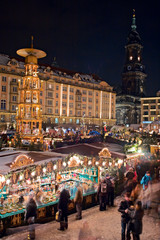 Foto op Aluminium Shanghai Weihnachtsmarkt Dresden