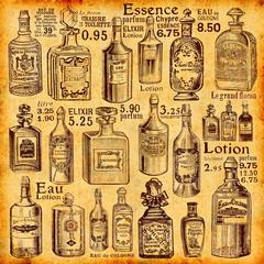 Wall Mural - Flacons et parfums