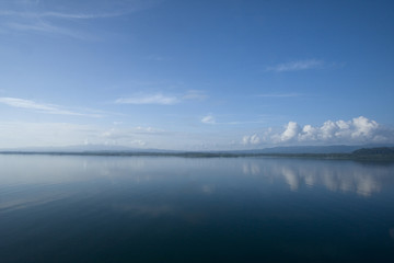 Still waters in Gulfo Dulce, Costa Rica