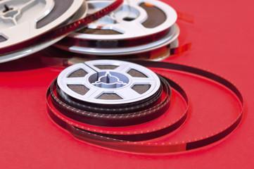 Cine film  reels