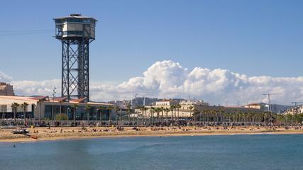 Sant Sebastia Beach